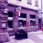 Die ehemalige Filiale in der Spitalstraße 30, Schweinfurt
