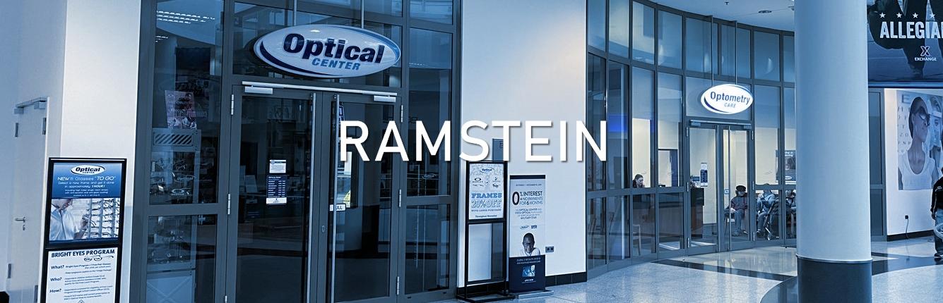 Brillen Voigt Optical Shop in der US Air Base Ramstein